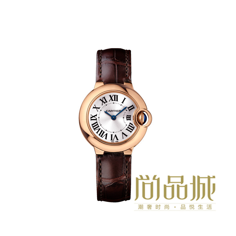 Direct mail authentic cartier cartier 2016 new leather ladies watches wrist watch w6900256 ballon