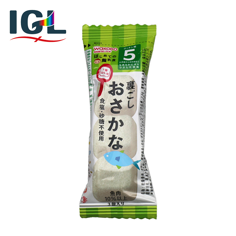 [Direct mail] japan wakodo cod piece of healthy nutrition baby food supplement infant mess 5 months