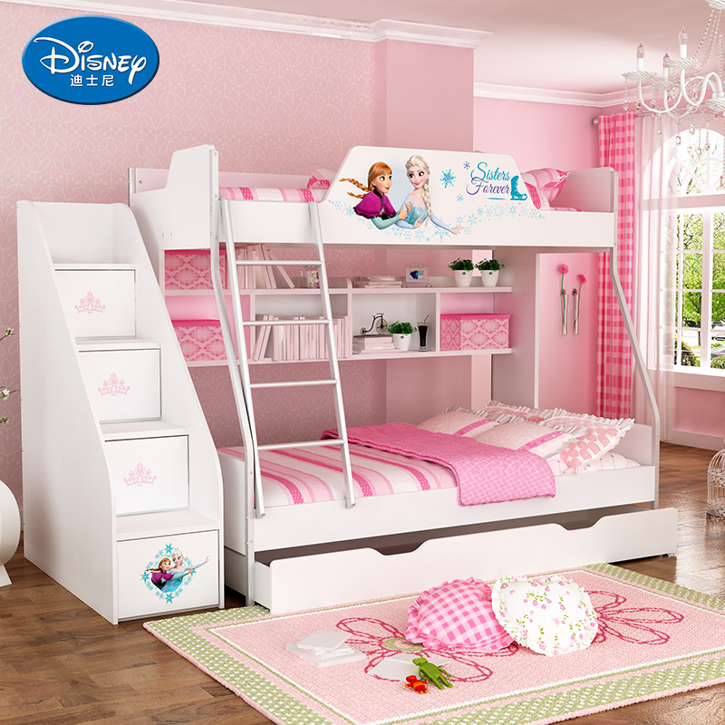 Get Quotations Disney Childrens Furniture Bunk Bed Girl Princess Multifunctional