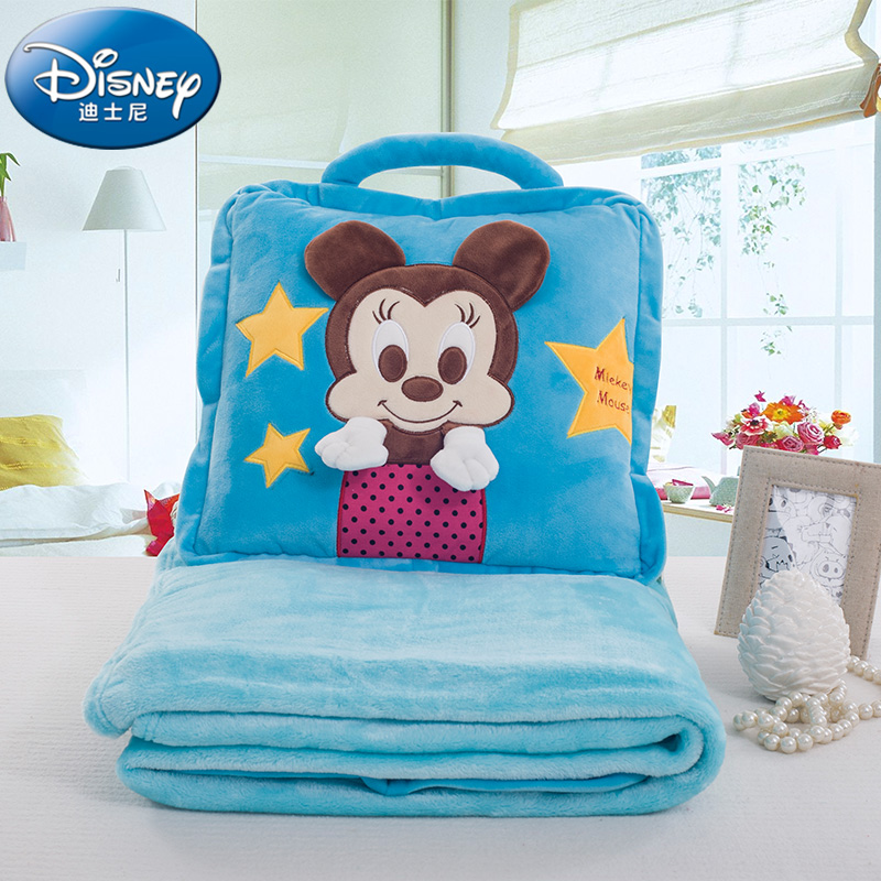 Disney/disney blanket pillow is cartoon child blanket baby blankets nap blanket air conditioning was the summer