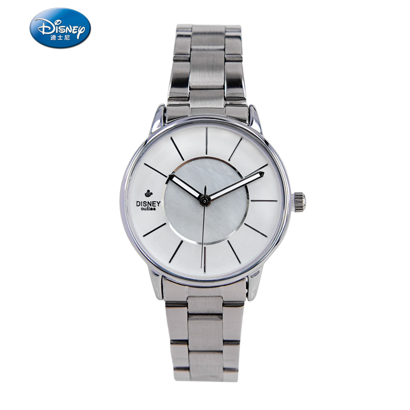 Disney genuine couple watches steel waterproof quartz watch student waterproof female form of fashion classic fashion male table