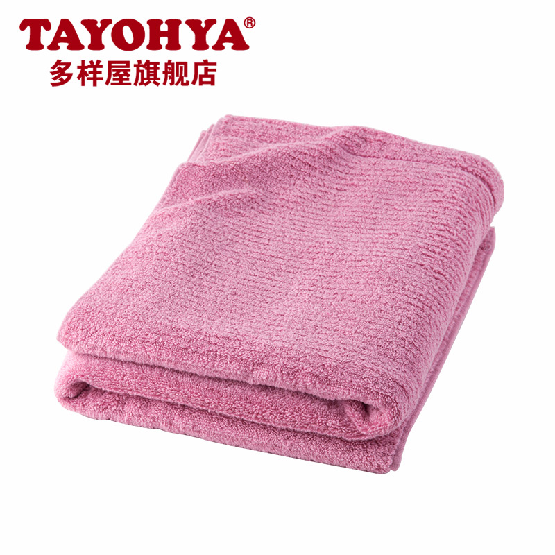 Diverse housing tide color fashion lovers thick cotton absorbent towel is soft and comfortable bath towel wash towel