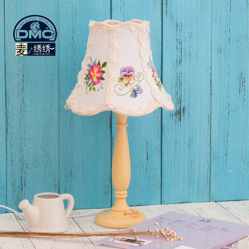 Dmc cross stitch kit dmc original european lamp modern simple european home decoration bedroom decoration