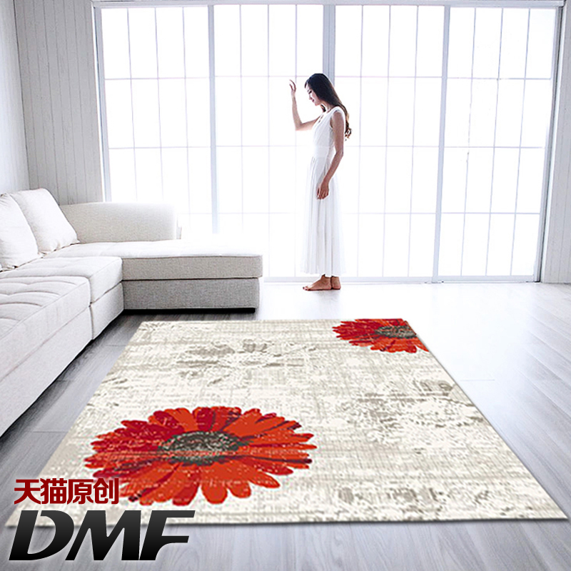 Dmf belgium imported japan and south korea upscale modern and stylish living room carpet carpet coffee table carpet special offer free shipping