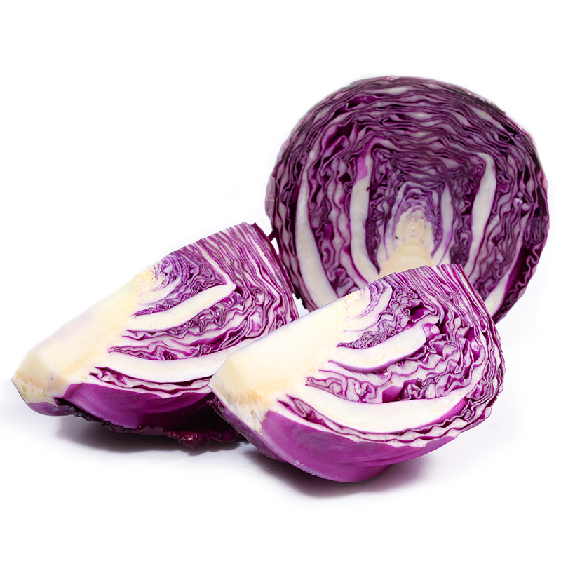 Dolly tonsfarm purple cabbage purple cabbage purple cabbage 400g seasonal organic farm fresh seasonal vegetables salad