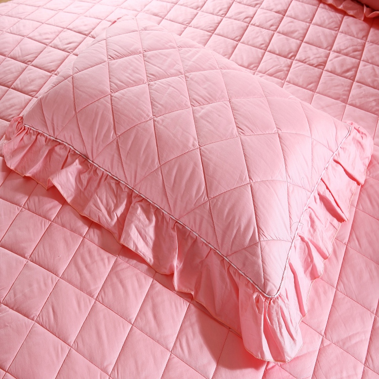 Dong xuan textile custom quilted cotton quilted pillowcase long double pillowcase pillowcases single thick lace