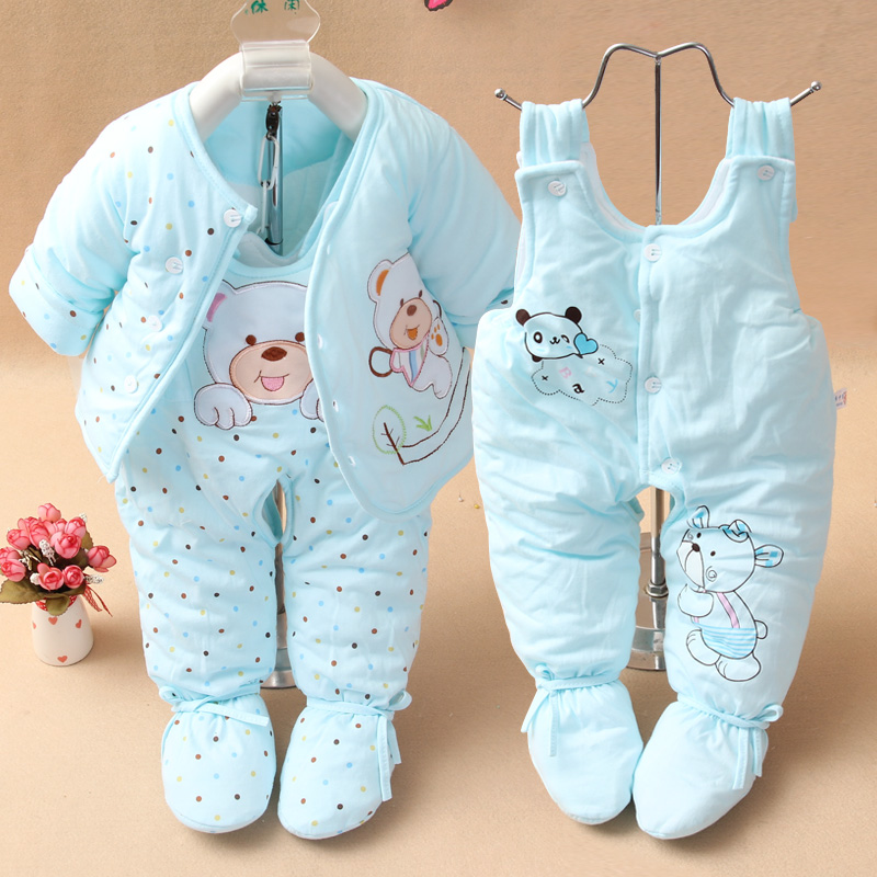 Dongkuan baby clothes newborn baby clothes cotton suit newborn baby clothes winter clothes padded baby out clothes
