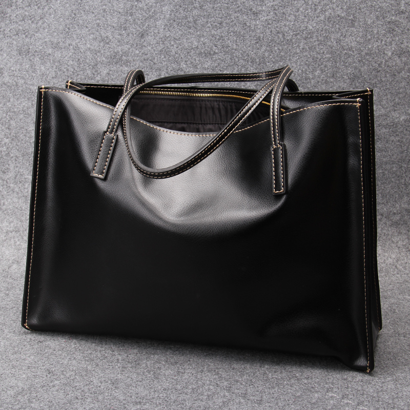 Dongkuan european and american fashion bags ladies leather handbags ladies shoulder bag big bag large capacity casual shopping bags