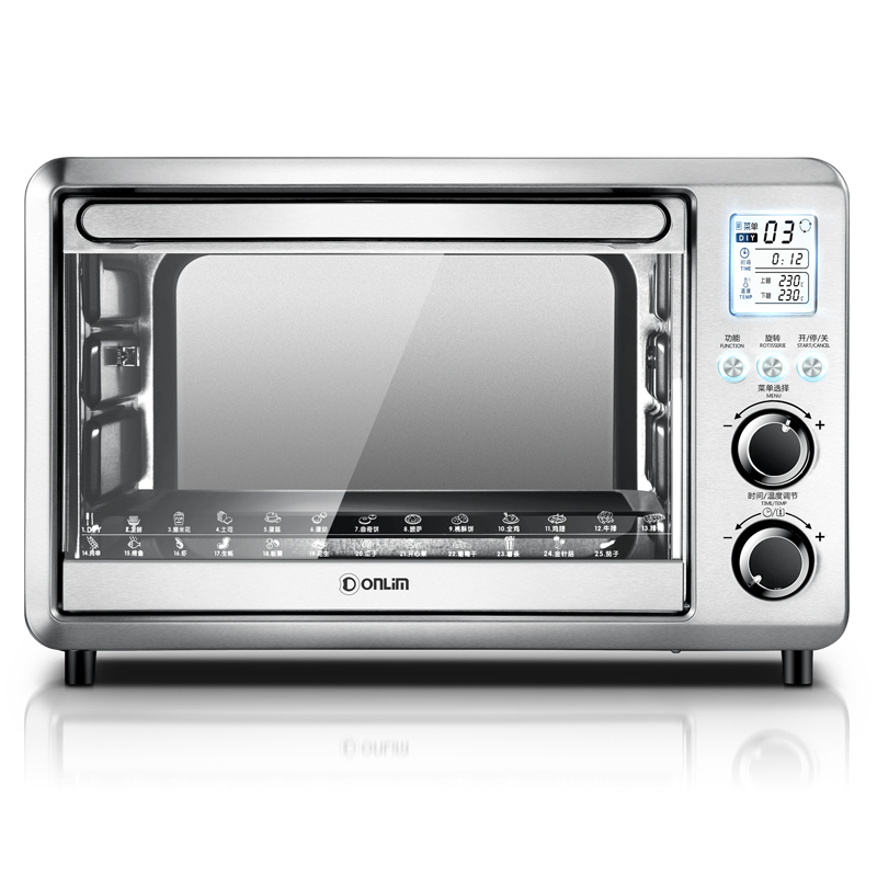 Donlim/df DL-K30A household toaster oven 28l intelligent electronic precision temperature baking cakes