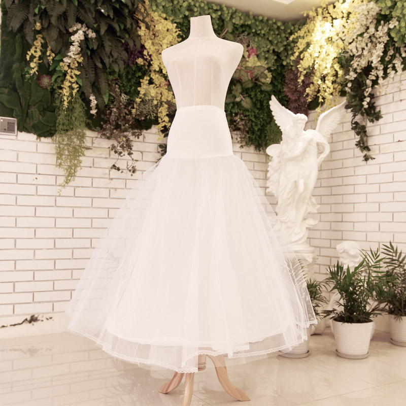 Door of the bride wedding dress accessories bridal panniers tutu petticoat a-line skirt 004