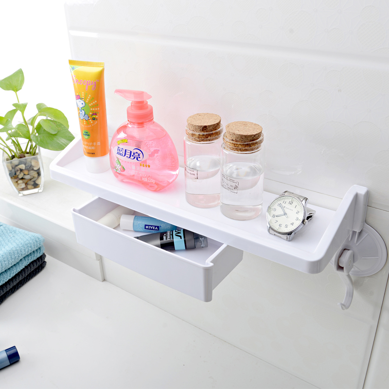 Double celebration sucker bathroom toilet bathroom drawer storage racks bathroom floor bathroom wall shelf rack