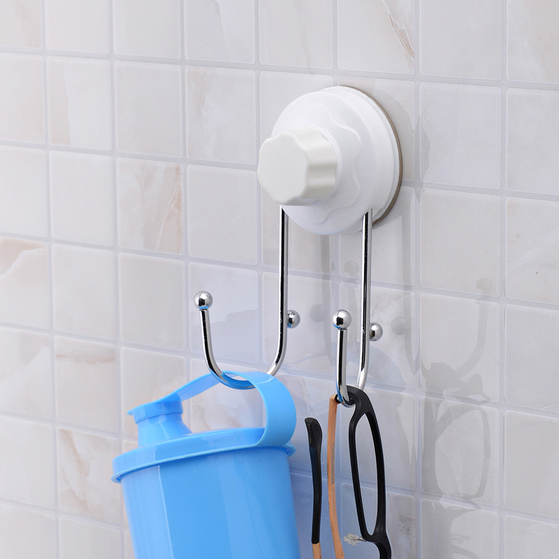 Double celebration sucker free nail 3 generations dnd wei kitchen bathroom wall suction strong suction cup hooks 1975