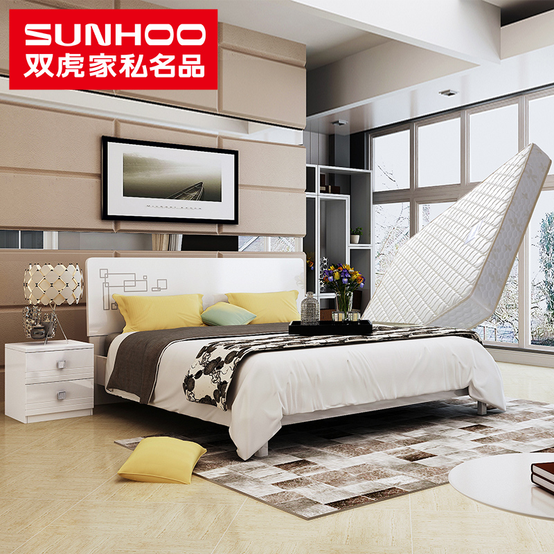 Luxury Get Quotations · Double tiger furniture piano paint double bed 1 5 1 8 m marriage bed double bed bedroom Simple Elegant - Elegant bedroom furniture hardware Modern