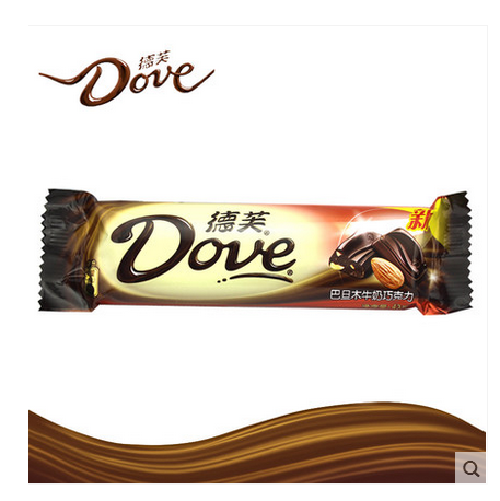 Dove dove chocolate almond/hazelnut/white chocolate/dark chocolate mocha 43g * 12 boxed 516 Grams of