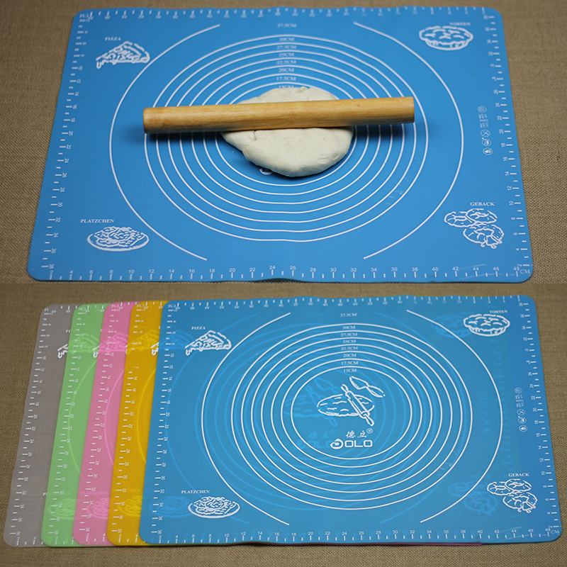 Drake high temperature silicone mat/large scale with a soft silicone baking mat chopping board dough cake pad