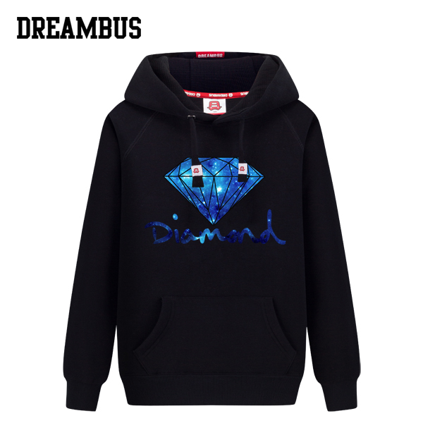 Dream bus cartoon lovers fall and winter clothes new fashion college wind male and female students loaded hooded sweater hedging
