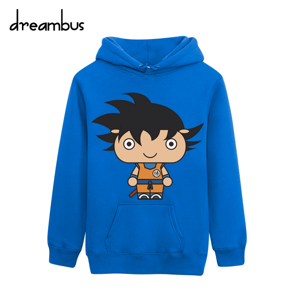Dream bus dream star classic cartoon monkey autumn and winter influx of goods plus velvet hooded sweater clothes for men and women dream 033
