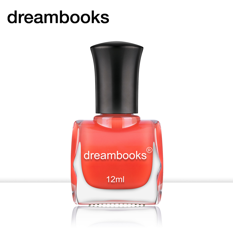 Dreambooks environmental health nail polish transparent red watermelon red jelly nontoxic nail polish 12 ml