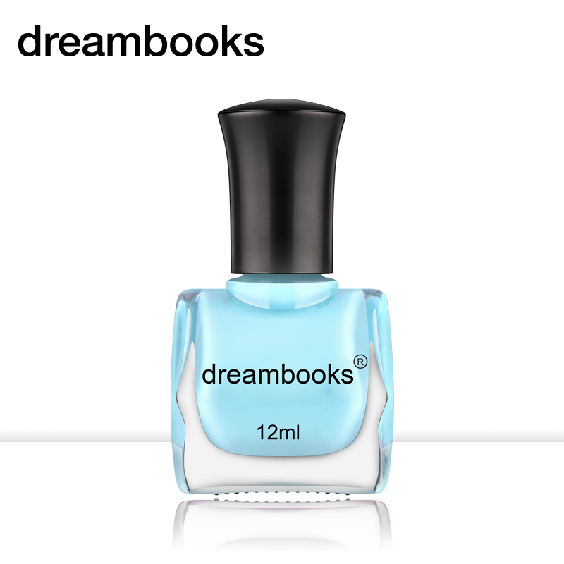 Dreambooks nontoxic green nail polish nail polish tasteless water available for children of pregnant women 12 ml