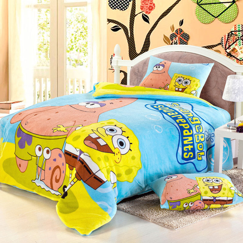 Dressed up law levin velvet warm autumn and winter cartoon family of four coral cashmere flannel bedding student dormitory