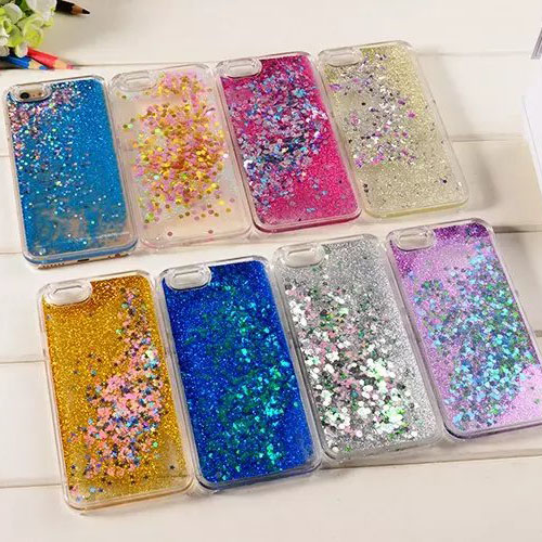 Drill shield iphone5/5S/5se diamond sequined quicksand phone shell mobile phone shell apple 5/5s protection liquid stars Shell