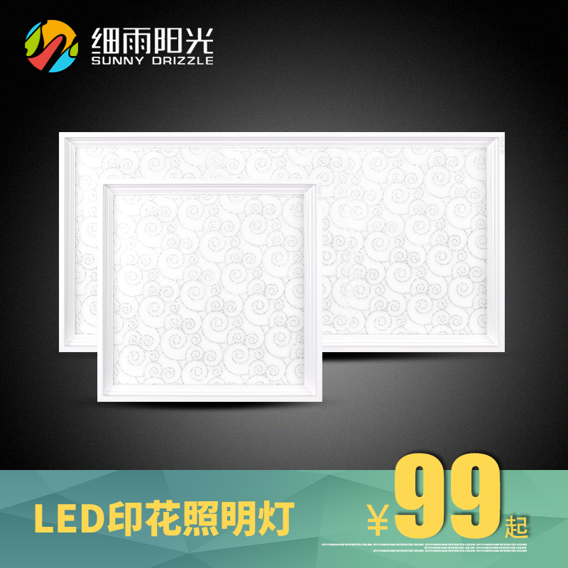 Drizzle sunshine integrated ceiling led lights integrated ceiling lights kitchen slim led panel light lantern
