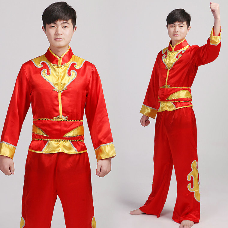Get Quotations · Drumming ethnic dance fan stage clothes younger male dragon and lion costumes drum dance costumes  sc 1 st  Shopping Guide - Alibaba & China Dragon Dance Costumes China Dragon Dance Costumes Shopping ...