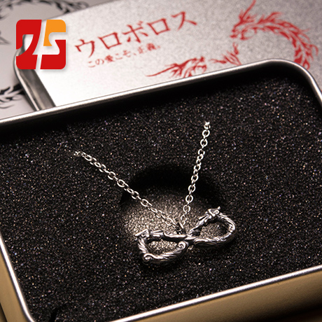 Dstyle authentic spot without ssangyong between the phagemid vect tail dragon bracelet 925 silver necklace new year gift to send her boyfriend