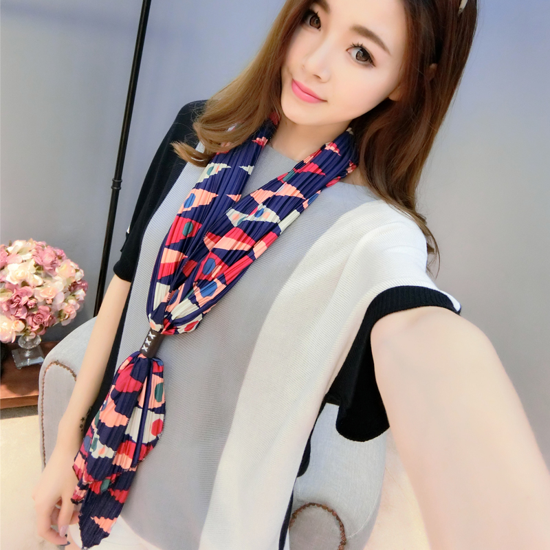 Duo of respect for hundreds of millions of ms. warm spring and winter scarves printed scarves shawl long section of female plaid silk scarf sj015