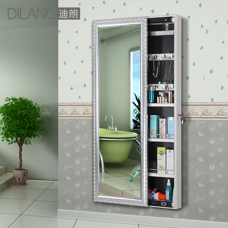 Get Quotations · Durand Mirror Dressing Mirror Dressing Mirror Cabinet  Storage Cabinet Euclidian Sliding Jewelry Storage Cabinet Mirror Wall