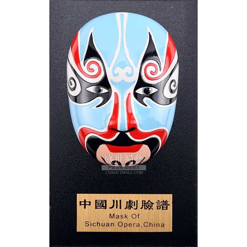 Eastern workers italian authorized classic sichuan opera sichuan specialties ben hair ornaments handmade ornaments foreign gifts
