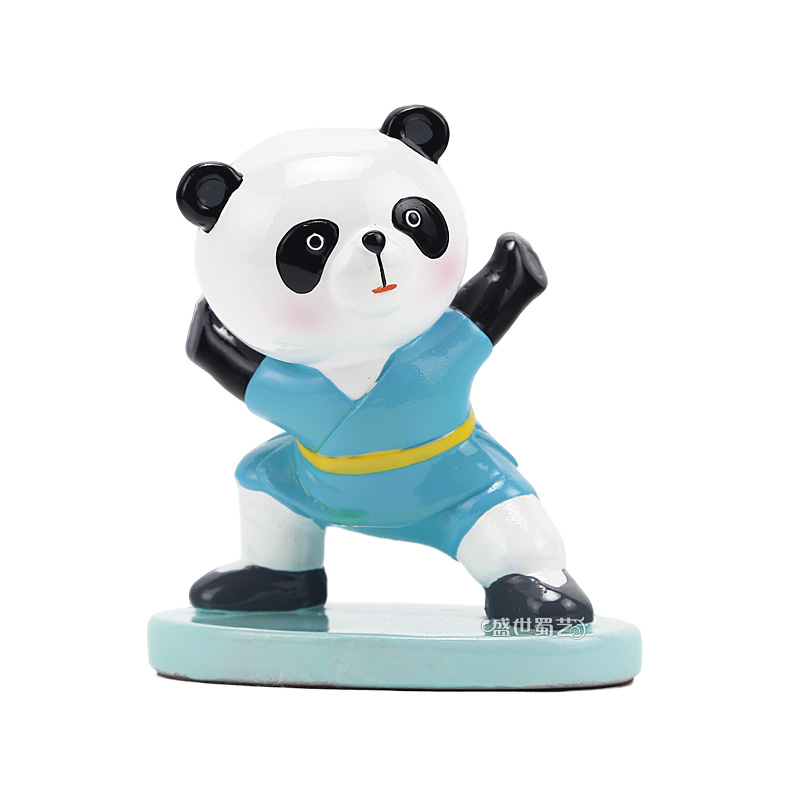 Eastern workers italian desktop ornaments handmade drawing children toy ornaments kung fu panda souvenirs new promotions