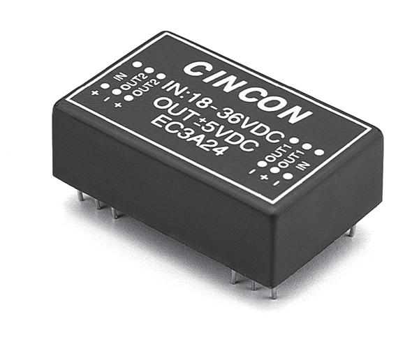 EC3A07H [isolated dc/dc converters 3 w 4.5-3.3VDC 6vdc 600mA