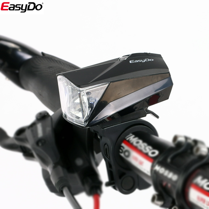 Edison easydo bike full smart sensors car strong light night lights dead fly mountain bike before riding car head lights