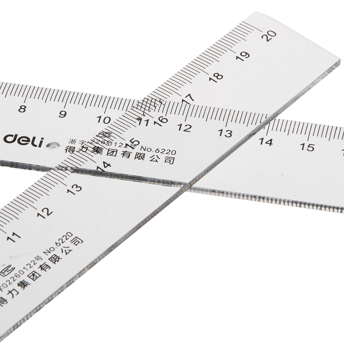 Effective steel ruler plastic ruler soft feet 15 20 30 50cm stainless steel ruler ruler ruler metal ruler