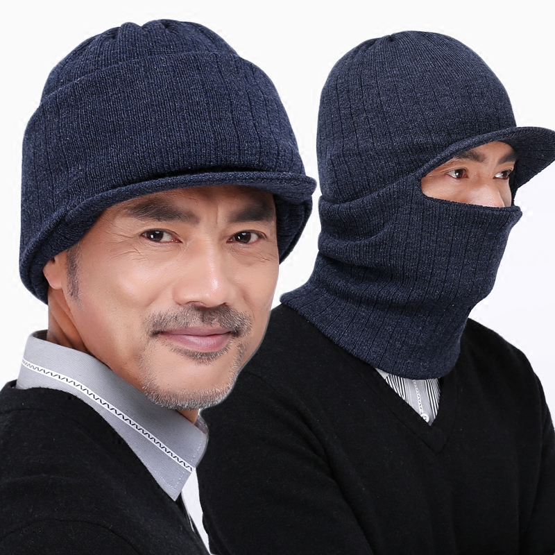 Get Quotations · Elderly men wool hat winter hat cap elderly old man father  baotou cap hat covering her cce5420948e7