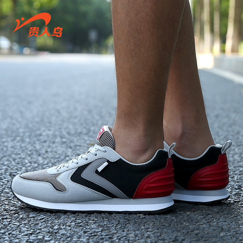 Elegant birds breathable lightweight men's running shoes 2016 fall within the new sports and all city classic retro running shoes jogging shoes tide