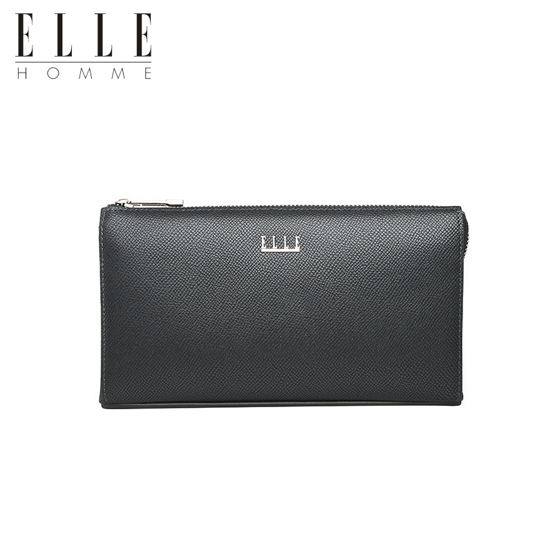 Get Quotations Elle Homme16 Years Of The New Men Silver Business Casual Leather Clutch Handbag Bag Small