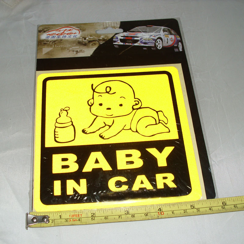 Emperor figure car stickers warning stickers good parents essential mom in the car stickers baby in car baby in the car