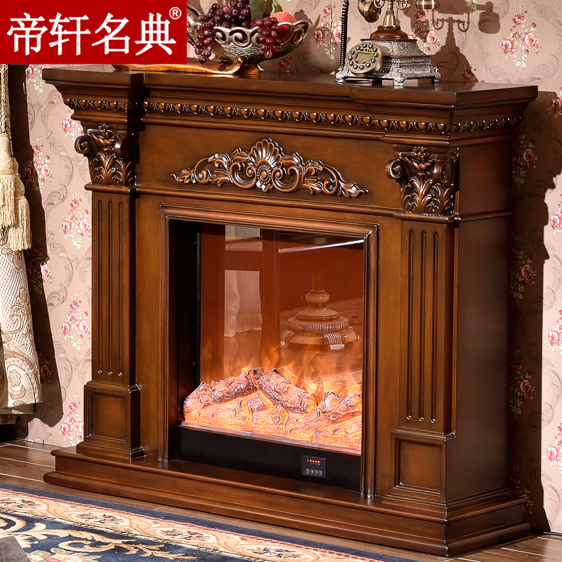 Emperor xuan code euclidian fireplace mantel decoration cabinet white american dark fireplace furnace core 1.2/1.5/2 M