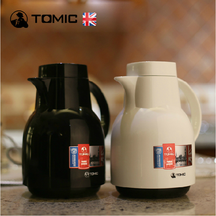 English tomic us special engraved glass liner paul warm fashion paul warm kettle thermos bottle home insulation pot