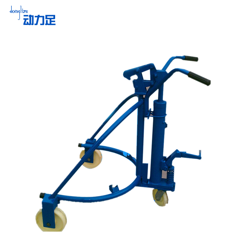 Enough power drums truck hydraulic forklift manual hydraulic oil drums drums drums drums truck loading and unloading trucks