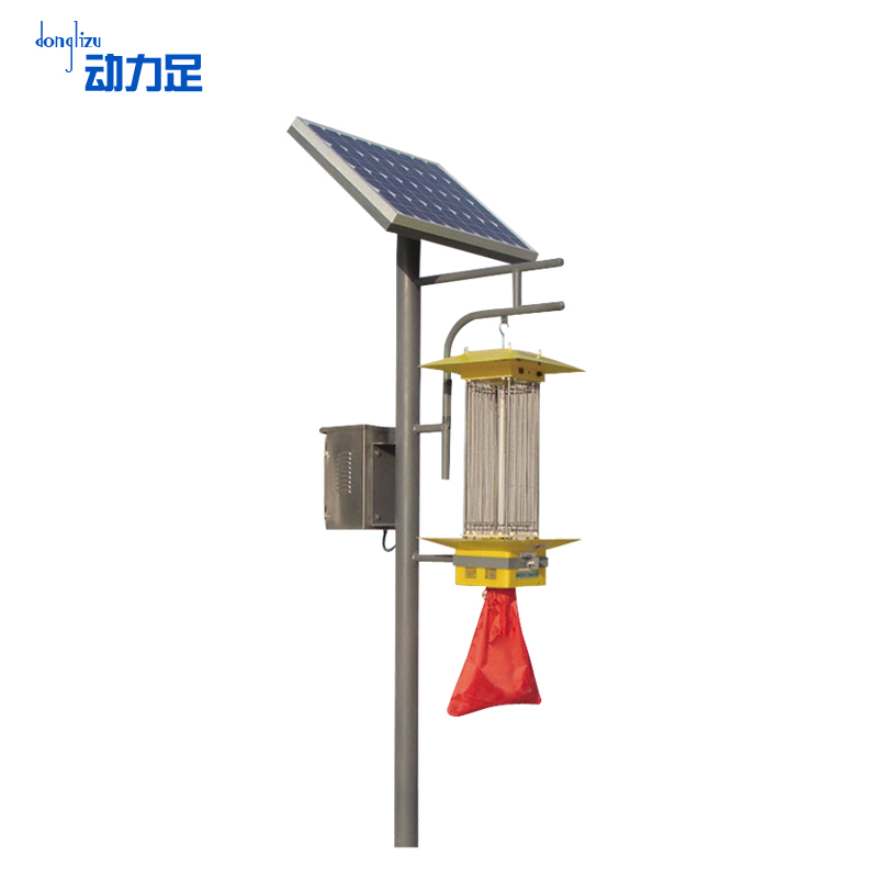 Enough power orchard forestry frequency vibration killing lamp solar mosquito lamp outdoor agricultural pest control lights lure insects