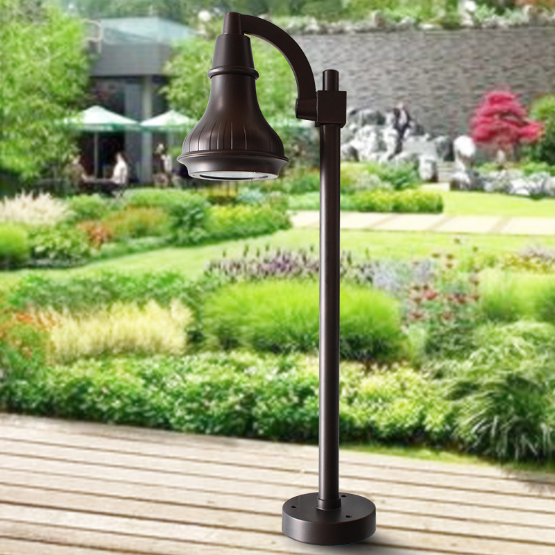 Euclidian led lawn light garden lights road lights outdoor lawn light lawn lights garden lights horn stand pole lamps