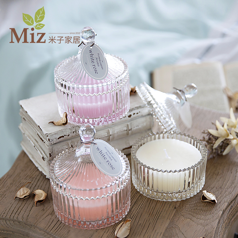 European creative gifts home aromatherapy candles creative romantic valentine's day marriage proposal confession birthday gift