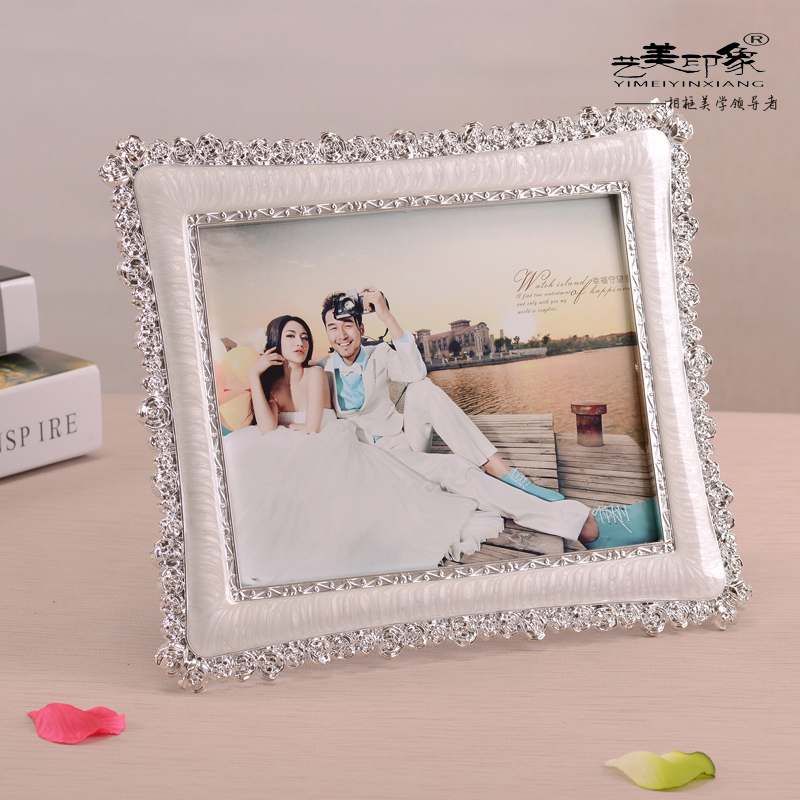 European photo frame wall photo frame creative photo frame swing sets wedding photo frame frame 6 inch 7 inch 8 inch 10 inch Free shipping