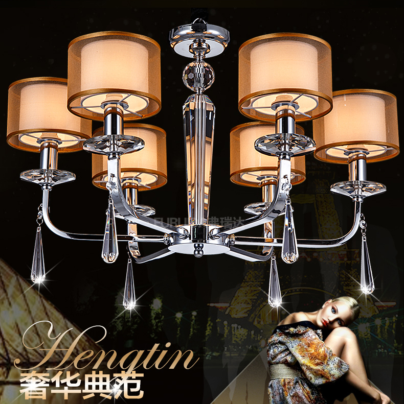 Ceiling Lights & Fans Nordic Bedroom Crystal Chandelier Minimalist Personality Simple European Aisle Lights American Corridor Crystal Droplight Lamp 100% High Quality Materials