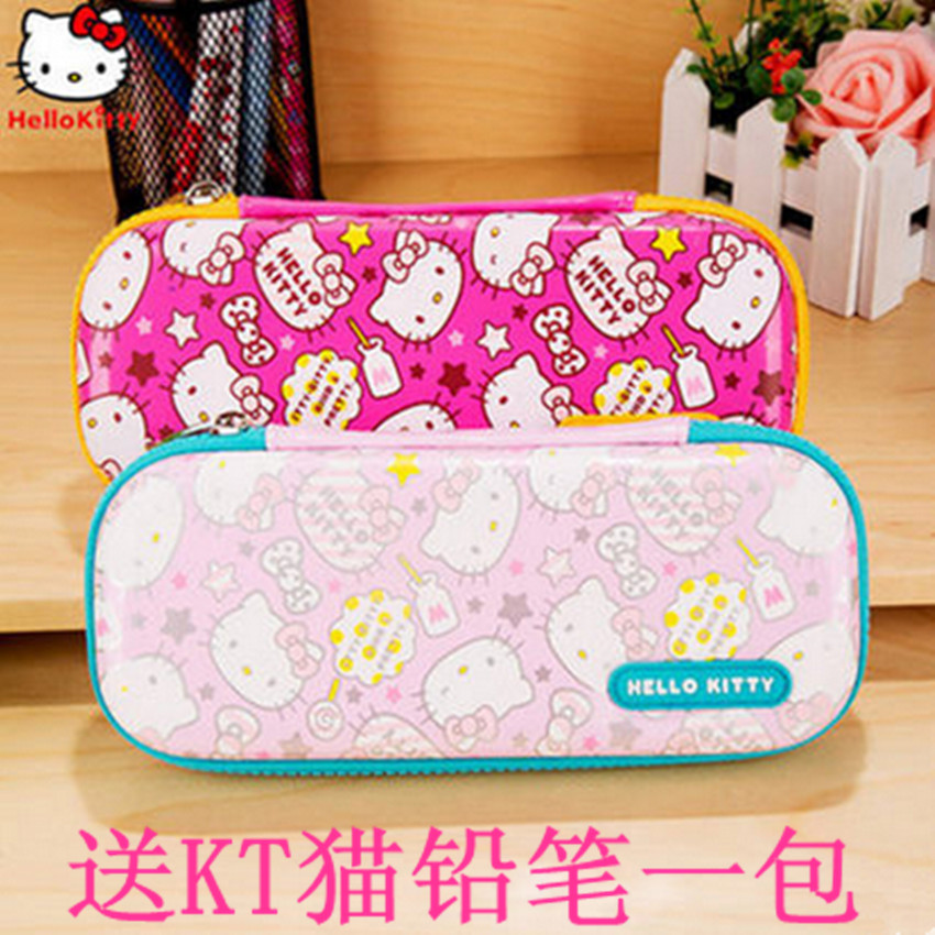Eva material hard case kt cat hello kitty pencil case pencil case pencil case pencil box large capacity