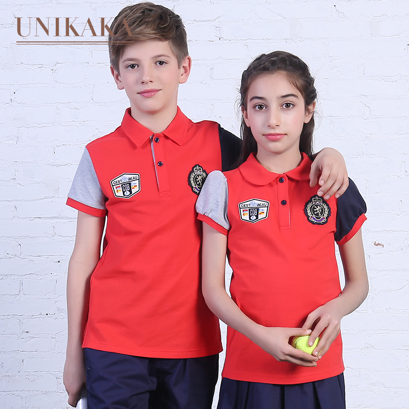 Excellent ni kaka 2016 summer clothes kindergarten classes serving students dress uniforms kindergarten summer school uniforms summer