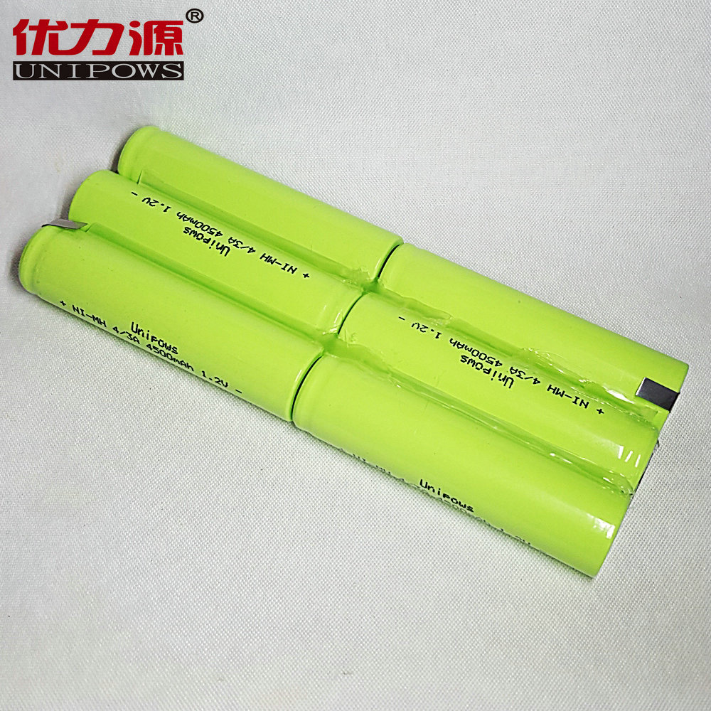 Excellent source of 7 v nimh/5a 17670 4500 mA battery 4/3a battery three times on three combinations
